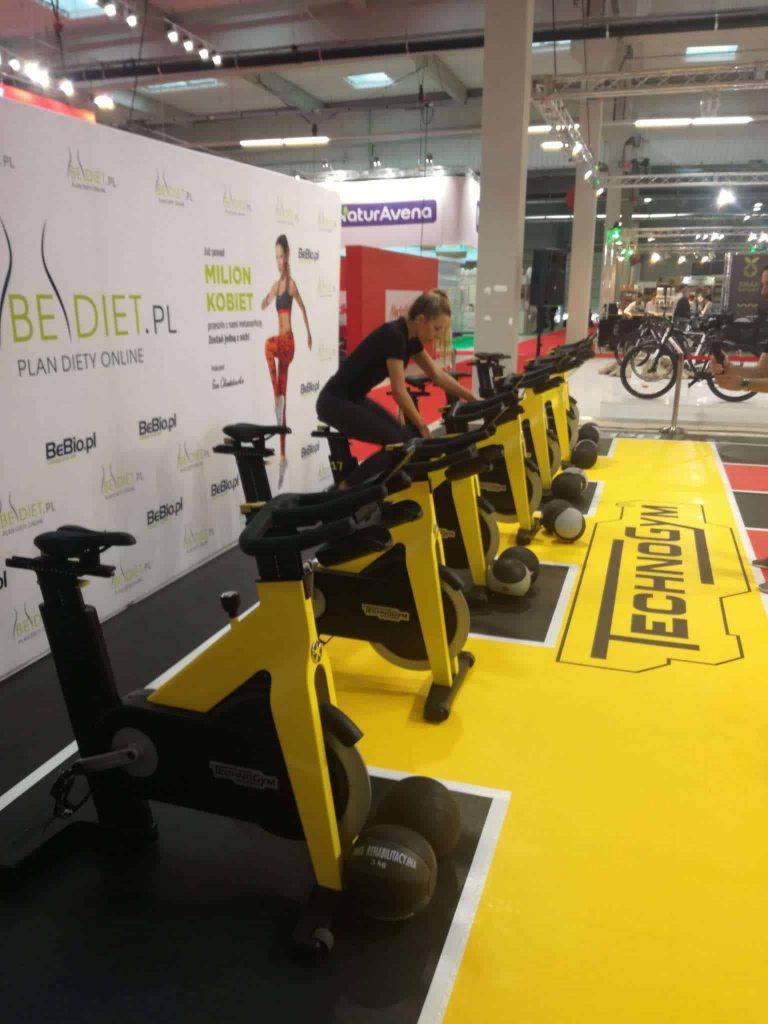 Fitness wystawa, Polska