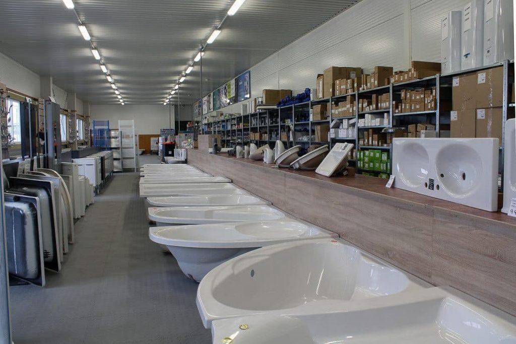 Sklep akcesoriów wodno-kanalizacyjnych i grzewczych, CZ