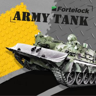 Nie skrzywdzisz kafelków Fortelock, nawet jeśli najedziesz na nie czołgiem I dosłownie!