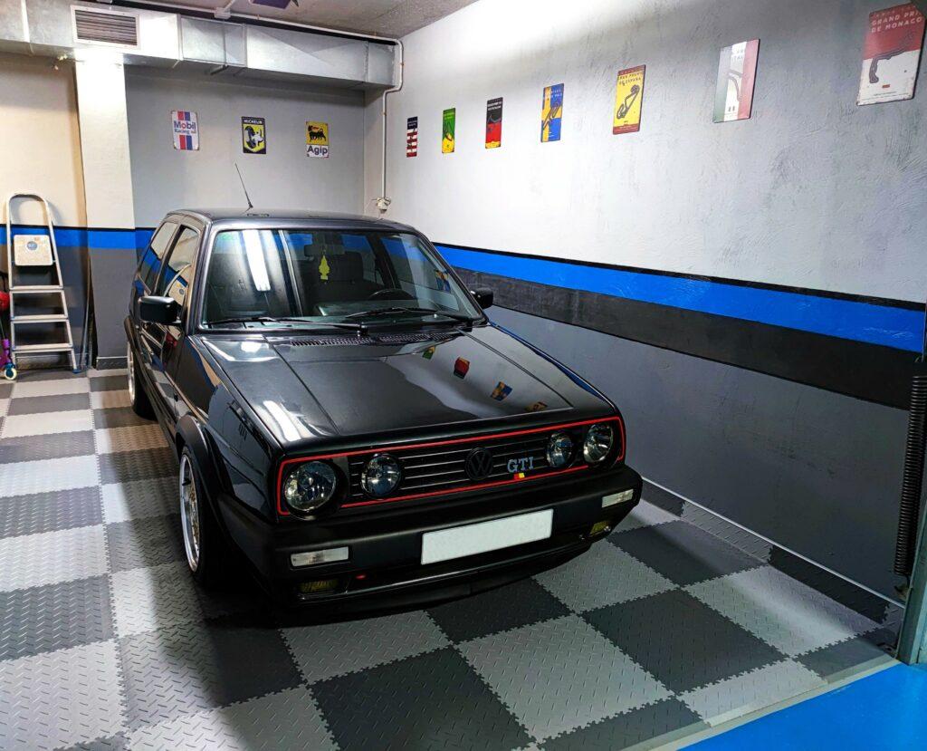 Garaż, Hiszpania